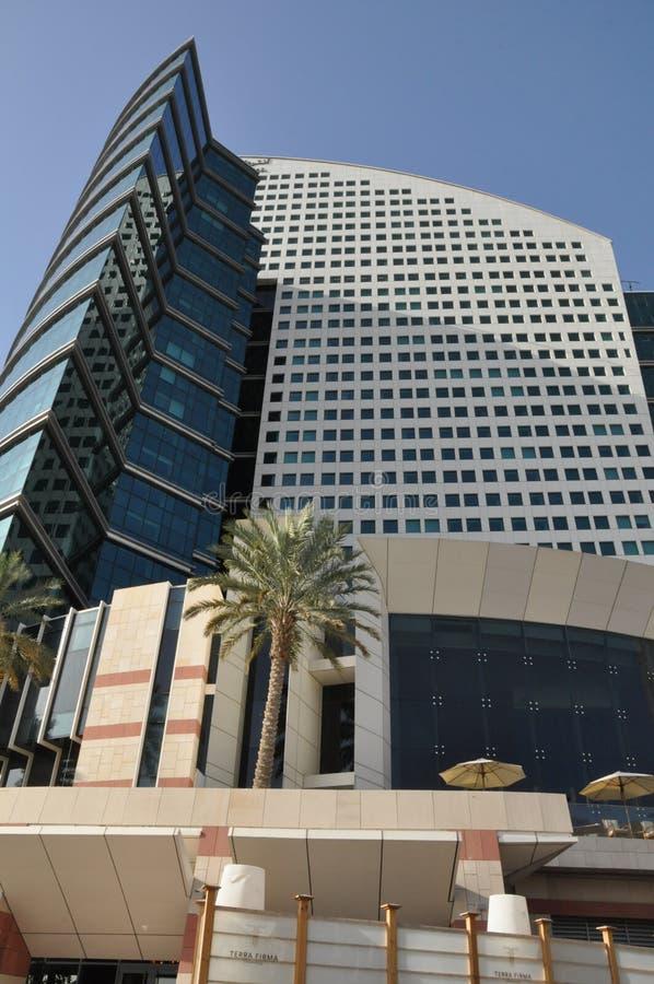 Hotel intercontinental en Dubai, UAE fotografía de archivo libre de regalías