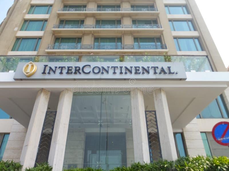 Hotel intercontinentale in Mumbai fotografia stock