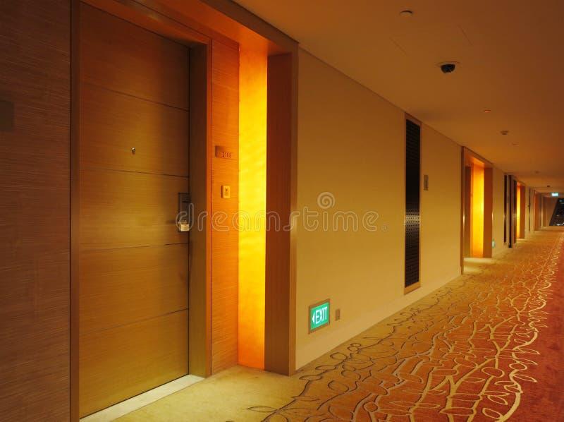 Hotel Interior. View of a hotel interior stock photo