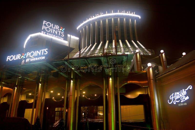 Hotel in Kaluga, Rusland royalty-vrije stock foto