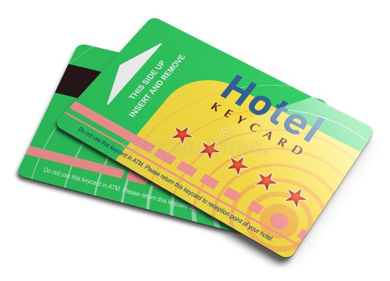Hotel Keycards Stock Photo