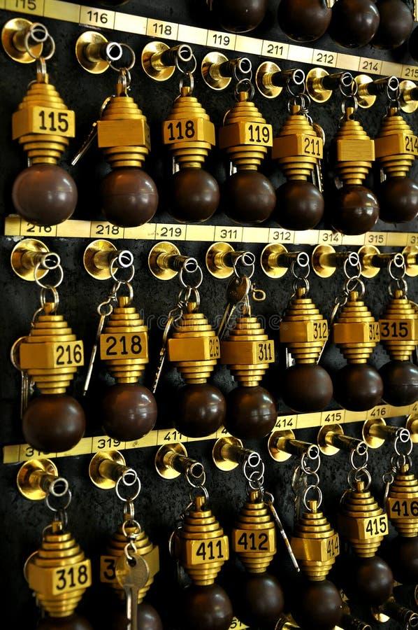 Hotel Keys: Tourism Concept Stock Photos