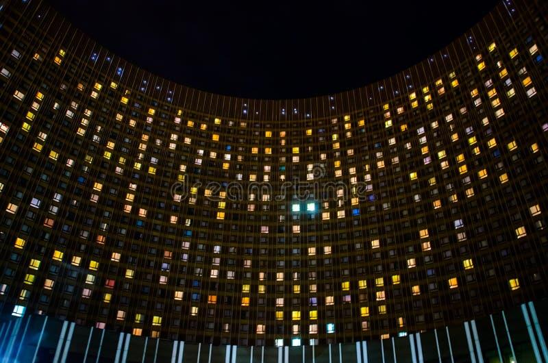 Hotel-Kosmos in MosÑ- ow stockfotos
