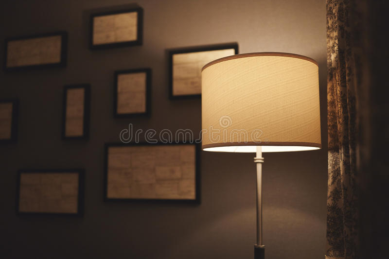 Hotel Lamp royalty free stock images