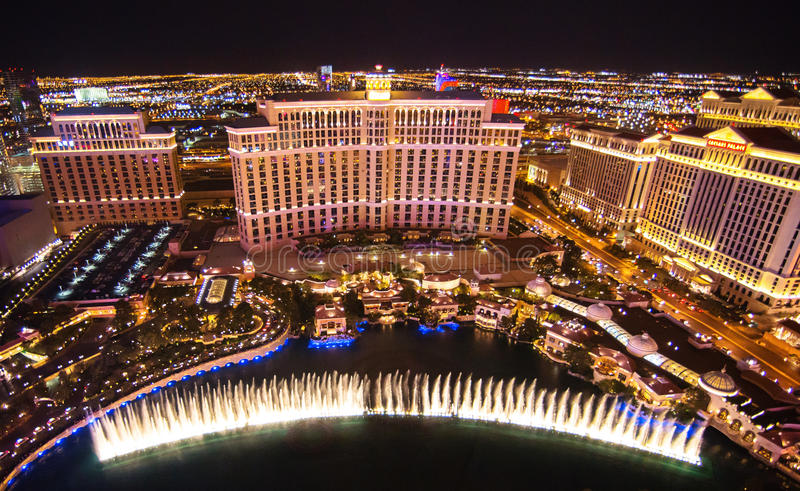 Hotel Las Vegas de Bellagio foto de archivo libre de regalías