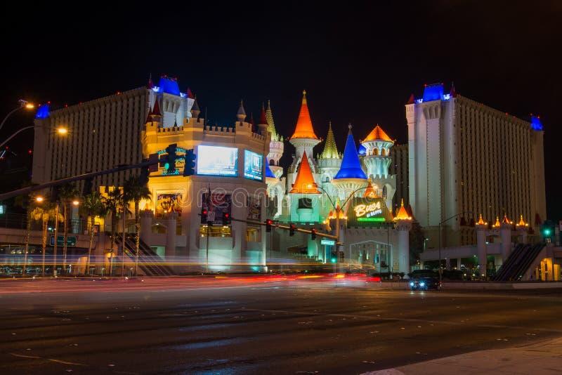 Hotel Las Vegas de Excalibur foto de stock