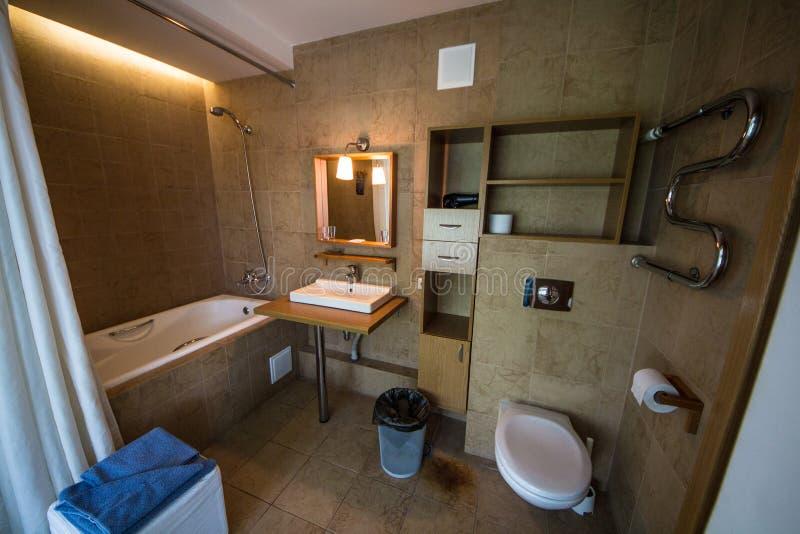 hotel lavatory imagens de stock
