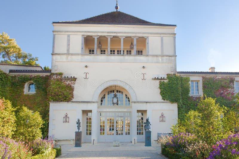 Hotel Les Fonte de Caudalie, Martillac, França imagens de stock royalty free