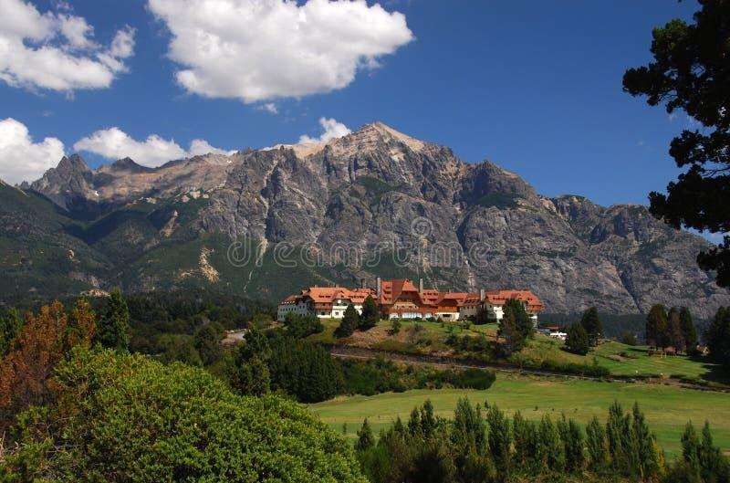 Hotel Llao Llao dichtbij Bariloche, Argentinië royalty-vrije stock fotografie