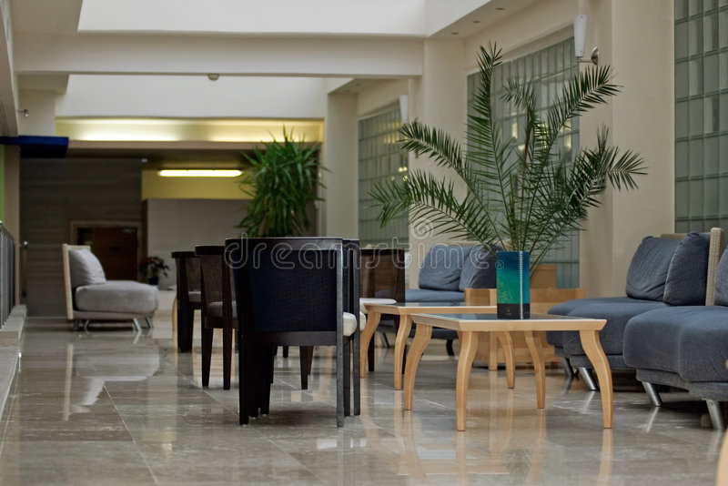 Download Hotel lobby stock photo. Image of room, coffee, cafe, business - 1763890