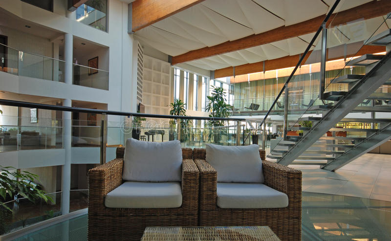 Download Hotel lobby stock image. Image of hall, comfortable, interior - 20456529
