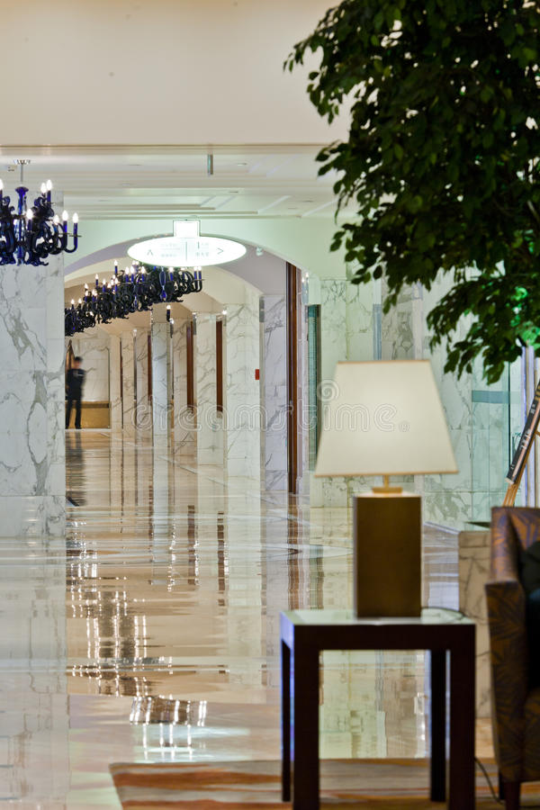 Download Hotel lobby stock image. Image of floor, christmas, holiday - 22570573