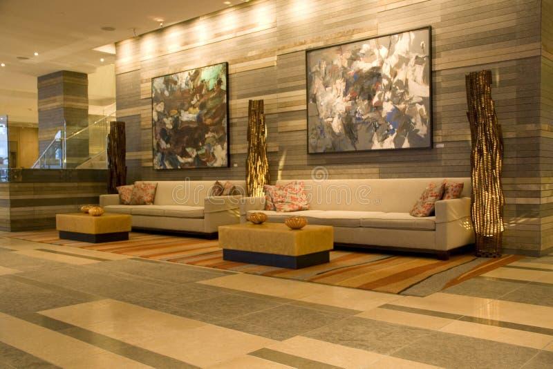 Hotel Lobby Editorial Stock Photo