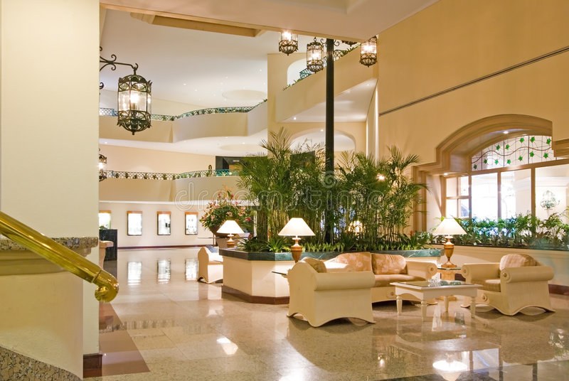 Hotel Lobby Conference Center