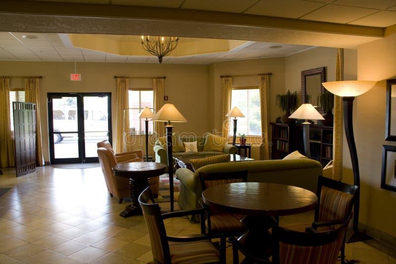 Hotel Lobby Living Room Royalty Free Stock Photos