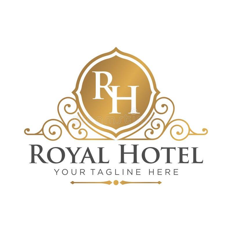 hotel logo template stock vector illustration of