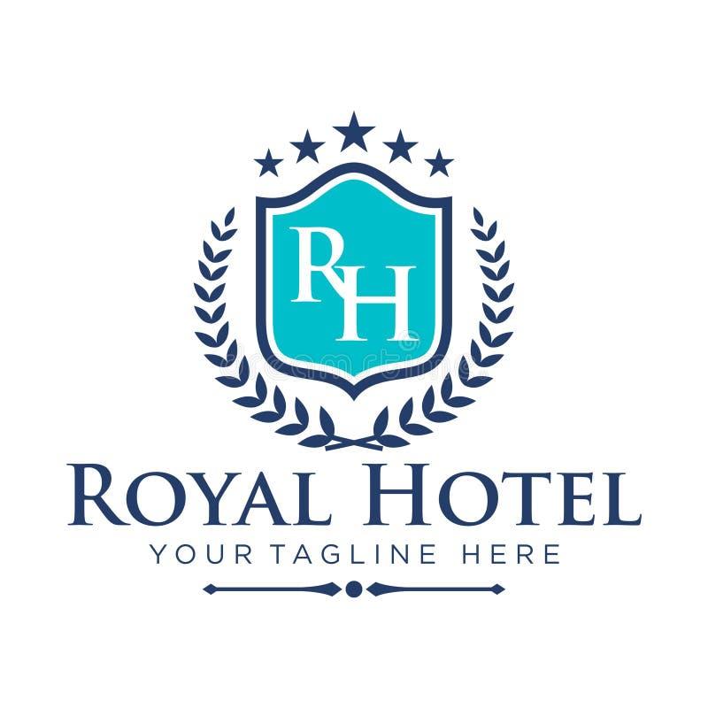 Hotel Logo Template stock illustration