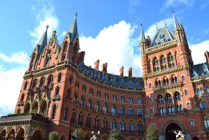 Hotel Londres Renaissance St Pancras fotografía de archivo