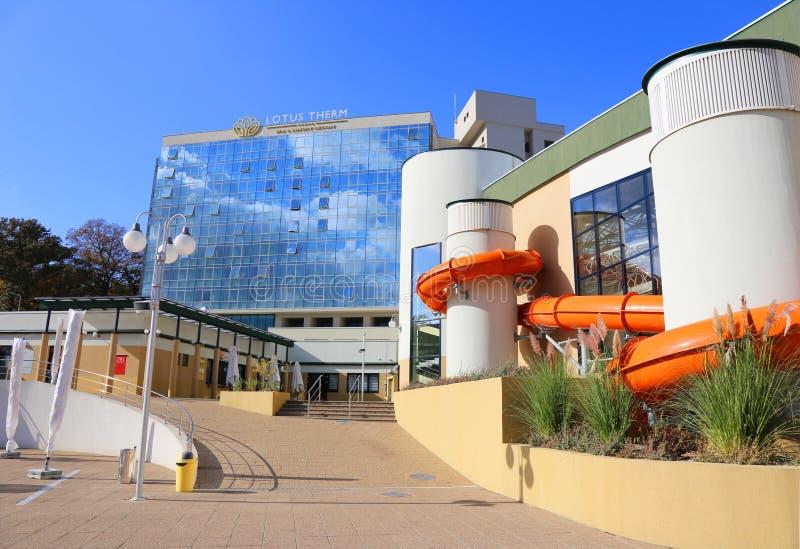 Hotel Lotus Therm - Badekurort u. Luxus-Resort stockbilder