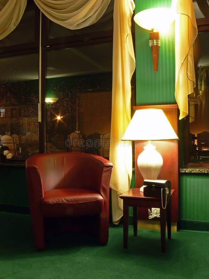 hotel lounge fotografia stock