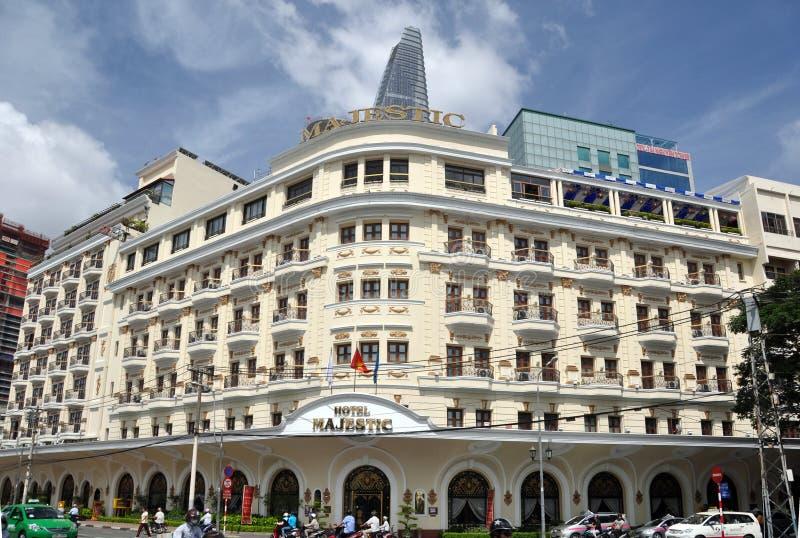 Hotel maestoso Ho Chi Minh City Vietnam fotografia stock libera da diritti