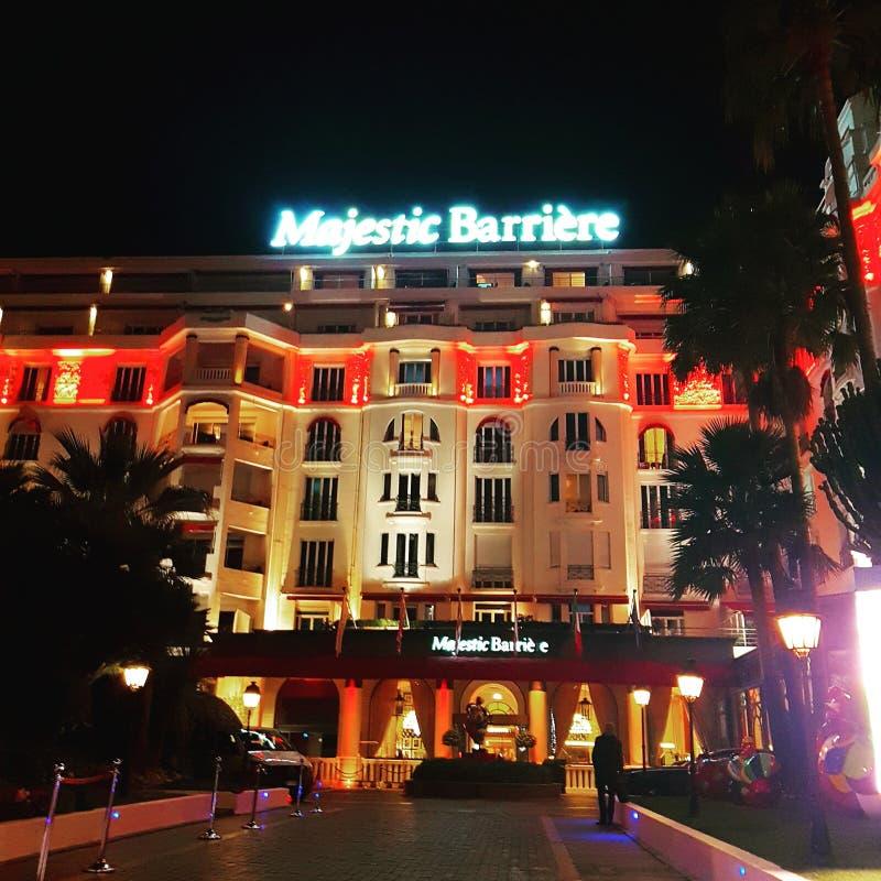 Hotel majestätisches Barrière 5 Sterne lizenzfreies stockbild