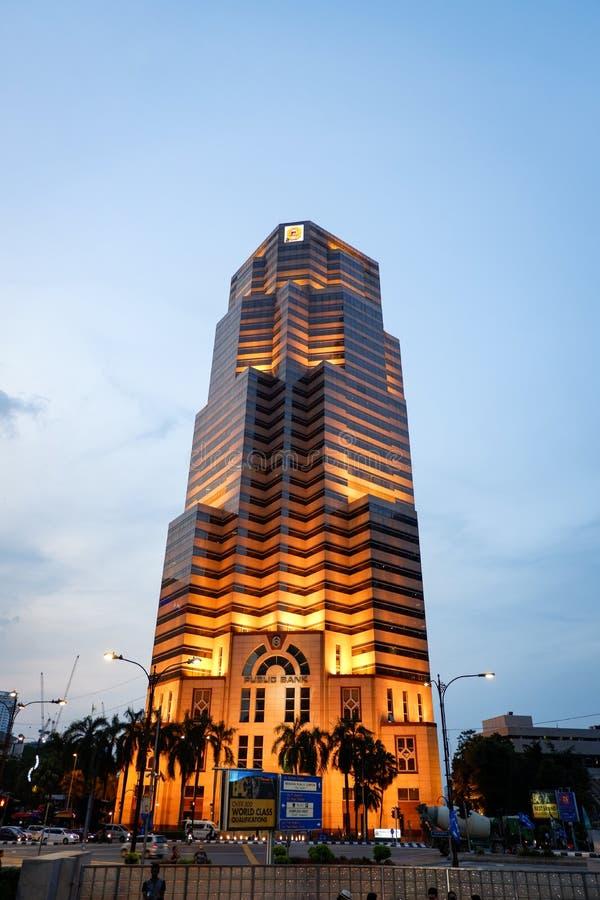 Hotel Malaysia moderne Art KUALA LUMPURS, MALAYSIA stockfoto