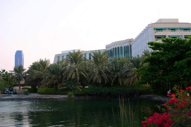Hotel, Manama, Bahrain stockbild