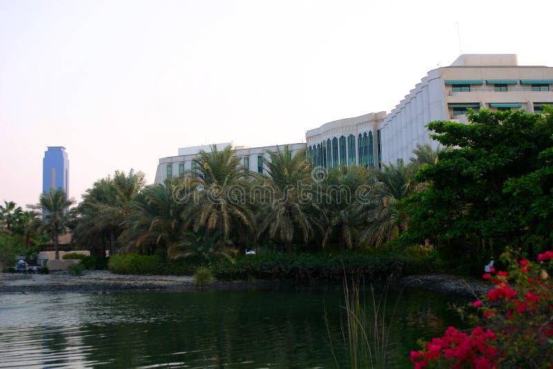 Hotel, Manama, Bahrein stock afbeelding
