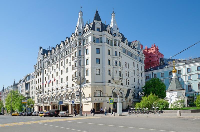 Hotel Marriott real, Aurora, Moscou, Rússia fotos de stock