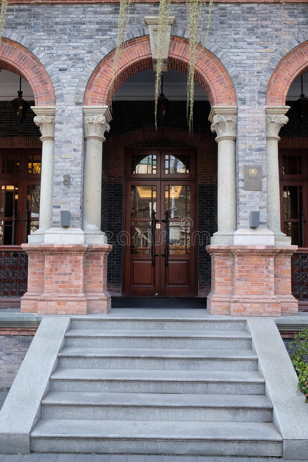 Hotel Massenet in Shanghai stock fotografie