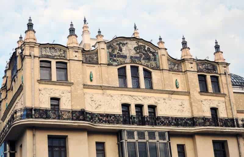 Hotel Metropol, de beroemde historische bouw, luxehotel en restaurant stock foto's