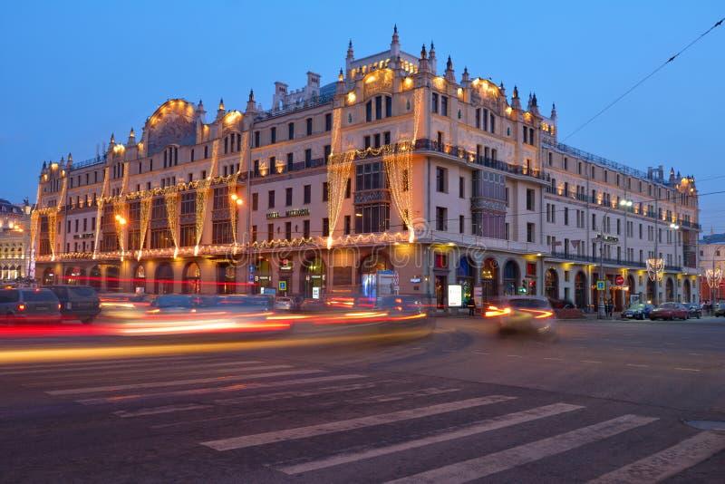 Hotel Metropol in Moskou royalty-vrije stock fotografie