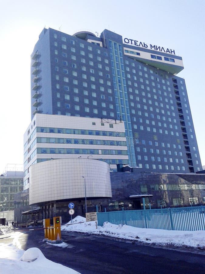 Hotel Milano fotografia stock libera da diritti