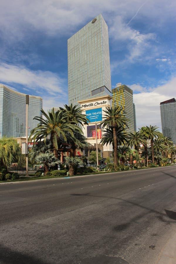 Hotel Monte Carlo Vegas lizenzfreies stockbild
