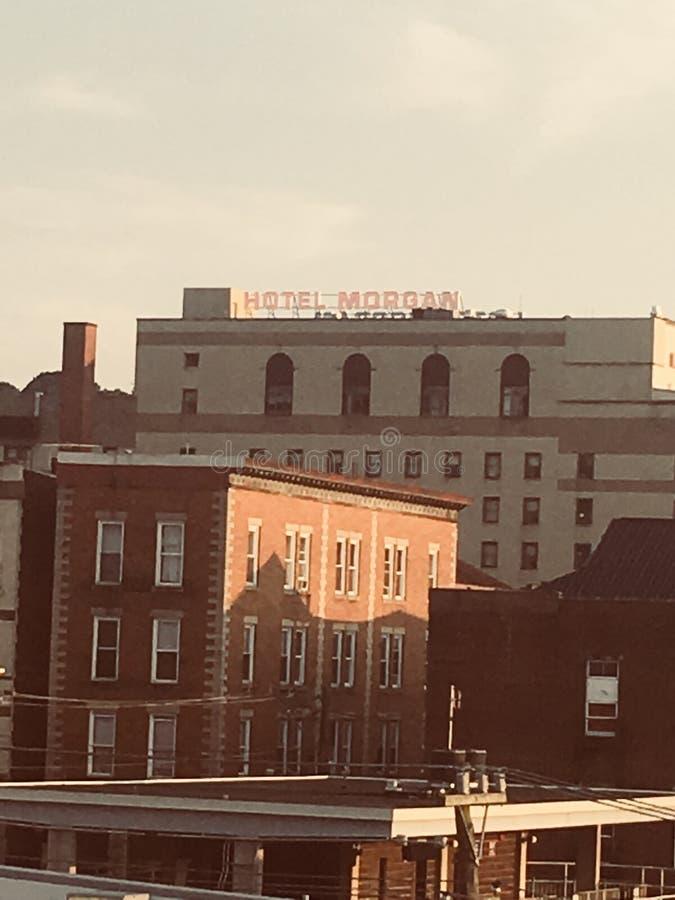 Hotel Morgan royalty-vrije stock afbeelding