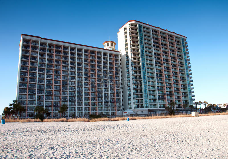 Download Hotel on Myrtle Beach stock photo. Image of hotel, holiday - 22912766