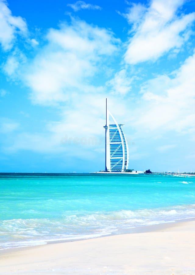 Hotel na praia fotografia de stock royalty free