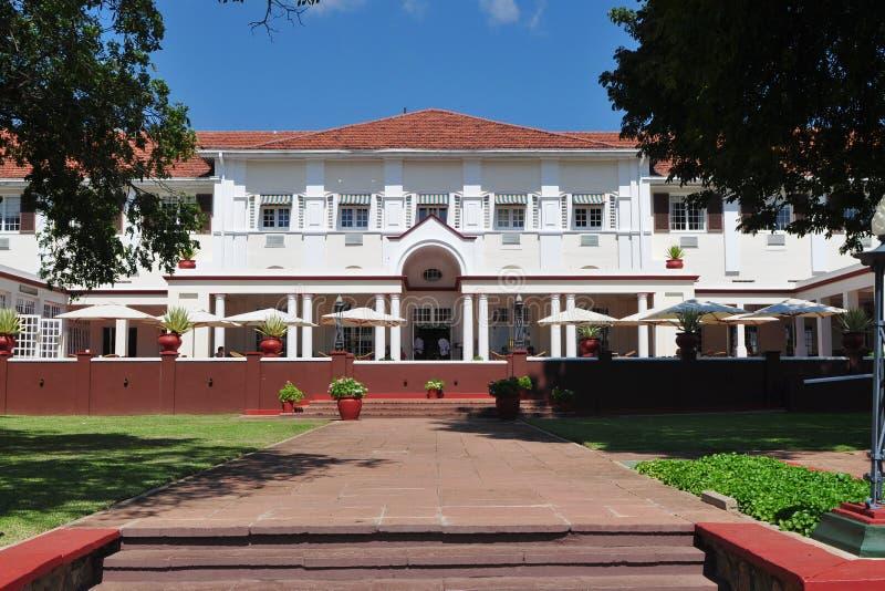 Hotel nahe Victoria Falls lizenzfreie stockfotos