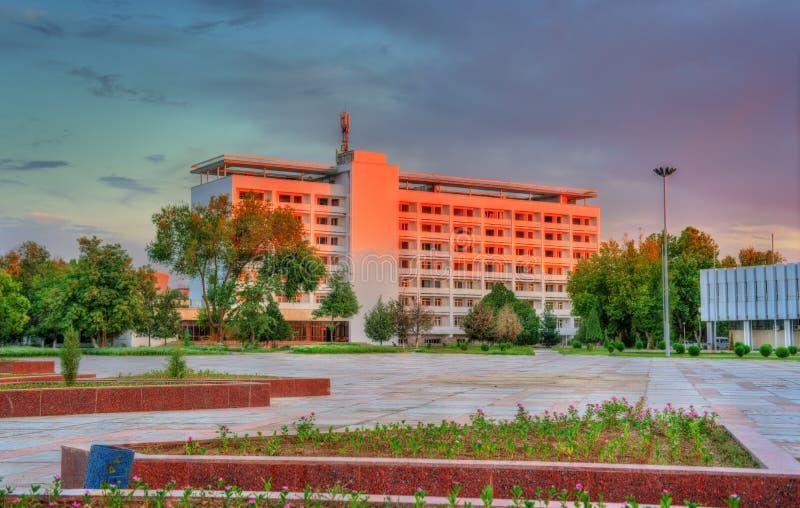 Hotel in Navoi, Oezbekistan stock foto