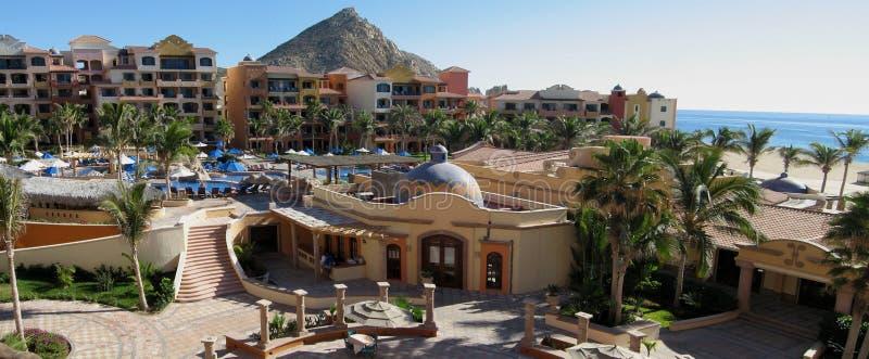 Hotel nel Messico immagini stock libere da diritti