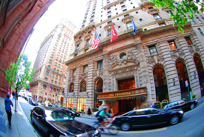 hotel new peninsula york στοκ εικόνες με δικαίωμα ελεύθερης χρήσης