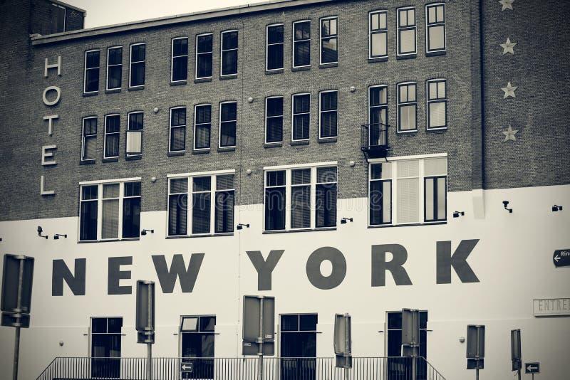 Hotel New York royalty free stock photo