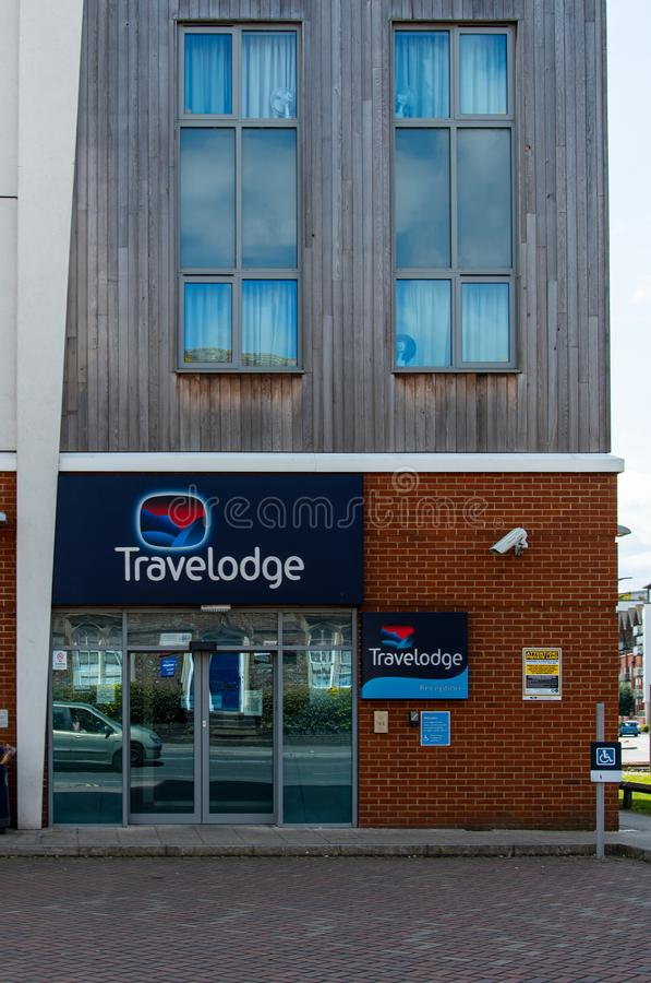 Hotel Newbury de Travelodge imagenes de archivo