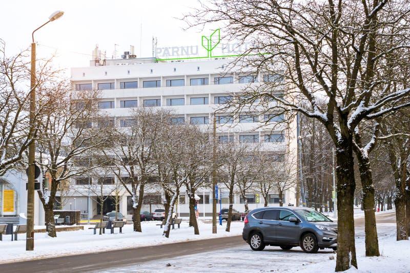 Hotel Parnu em Estônia imagens de stock royalty free