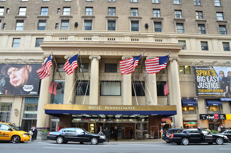 Download Hotel Pennsylvania editorial stock image. Image of service - 24525894