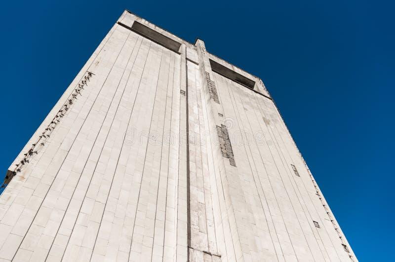 Hotel Polesie en el área de chernobyl fotos de archivo