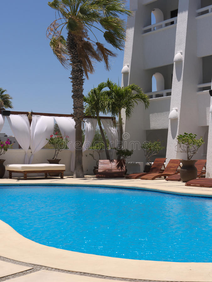 Download Hotel pool stock photo. Image of vacation, palm, tourism - 22954326