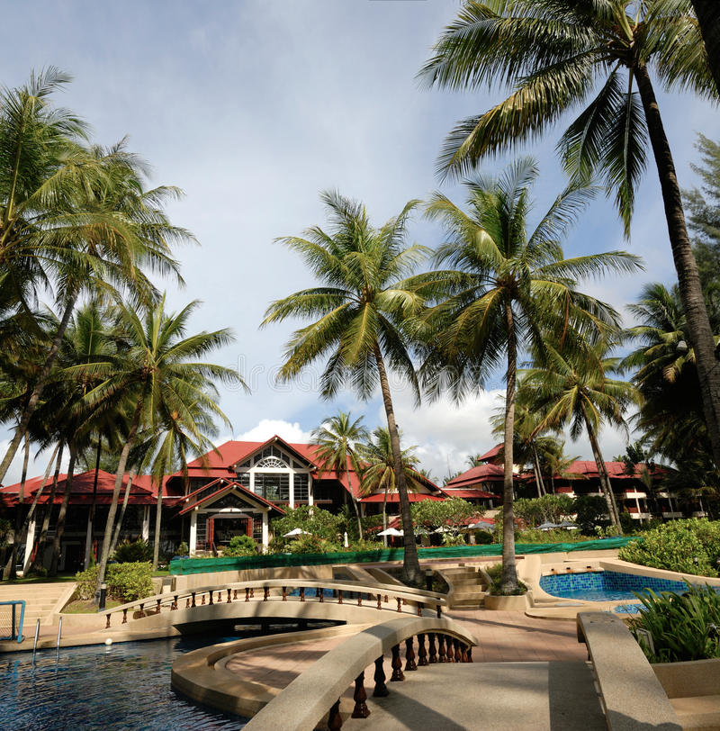 Download Hotel Poolside Thai Architecture Stock Photo - Image: 21992112