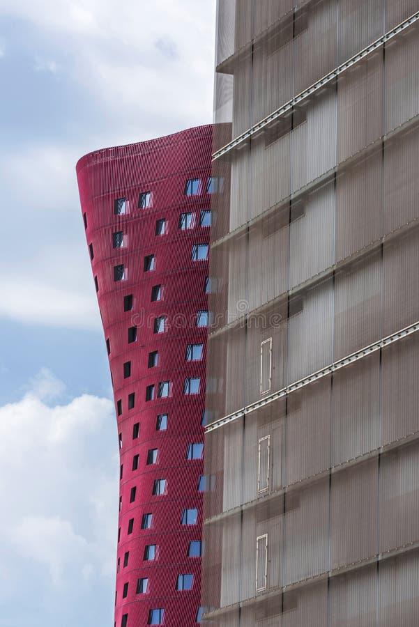 Hotel Porta Fira, Barcelona royalty free stock photography